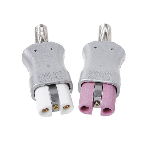 Industrial Socket Plug For Aluminum Alloy Electric Heater Ceramic Heating Ring High Temperature