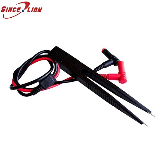 SINCELIAN Multimeter Pen LCR Patch Clamp Patch Capacitance And Inductance SMD Tester Pen Tweezers Type Patch Clamp Test table p