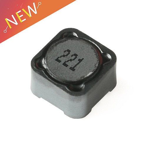 10PCS Shielded Inductor SMD Power Inductor CDRH127R 220uH 221