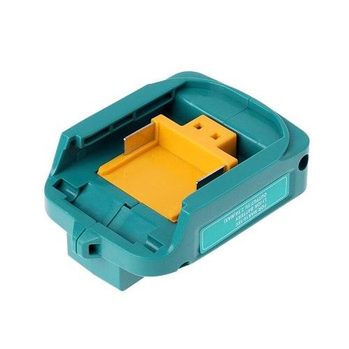 USB Charging Adapter For Makita ADP05 BL1815 BL1830 BL1840 BL1850 1415 14.8-18V F3MB