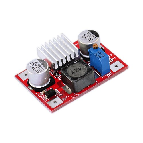 DC Boost LM2577 Converter Step up Module 3.5-35V to 5-56V 3A MAX with Light