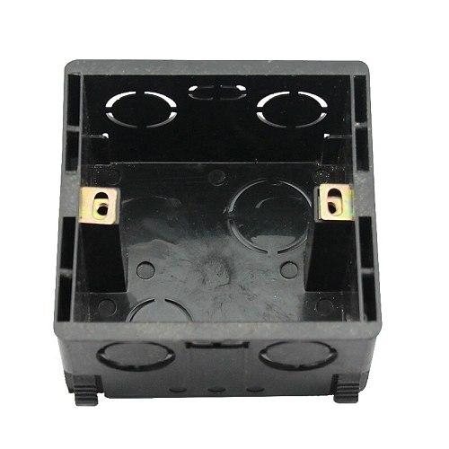 Type 86 dark install wall switch socket box general bottom box high strength wiring box  86-01