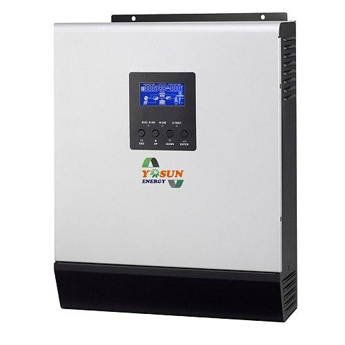 2400W Solar Inverter 220V~240Vac 50A PWM 3Kva Pure Sine Wave Inverter 50Hz/60Hz Off Grid Inverter 24V Battery Charger