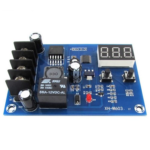 BMBY-Battery Charging Control Board,Charging Protection Board,Charge Controller Protection Switch for DC12-24V Lead Acid Batte