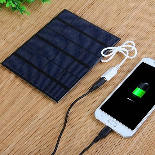 China factory 3.5w solar panel with USB can charge mobile phone