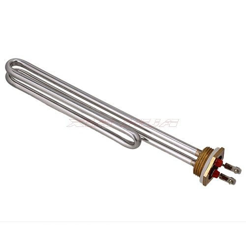 ACV 220 1-inch copper head stainless steel heating tube 4000W heating pipe solar heating pipe liquid heating rods