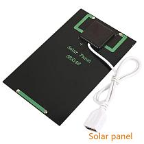 Solar Panel 5V Mini Solar System DIY Battery Cell Phone Chargers Portable Solar Cell 5W Solar Panels Generator Charger Panel