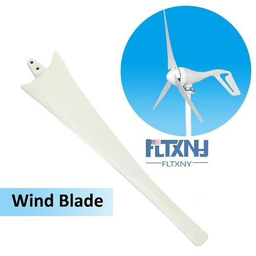 550/600/650/750/800/900mm Black/White Wind Generator Wind Turbines Blades High Strength Nylon Fiber Windmill Accessories