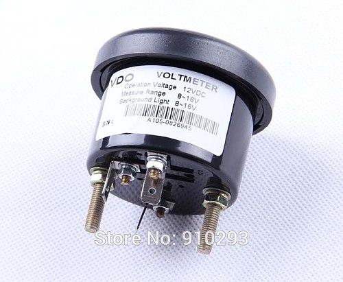 VDO Voltage Gauge 12V/24V optional