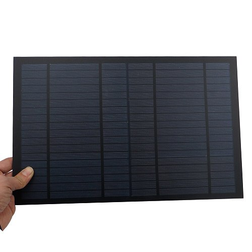 Solar Panel 10W 0.55A 18V Cell DIY Battery Charger Mini Solar Panel China Module Solar System Cells for Cell Charger Toy
