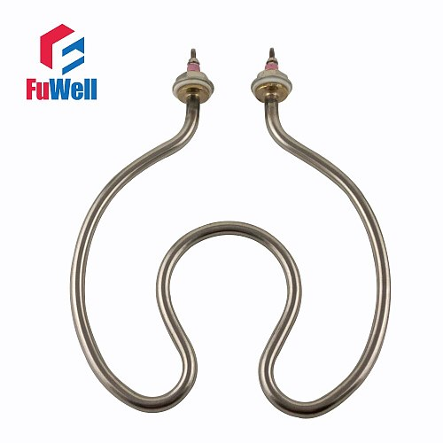 304 Stainless Steel/Copper Water Heating Element Electric Tube Heater for Open Bucket