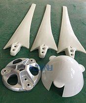 high strength carbon fibers blades for horizontal wind turbine 100w 200w 300w 400w 500w 600w DIY blades for wind generator