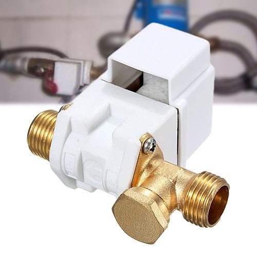12V DC 1/2Inch 4 Points N/C Accessory Solar Water Heater Pressure Normally Closed Electric Solenoid  Diaphragm Brass Filter