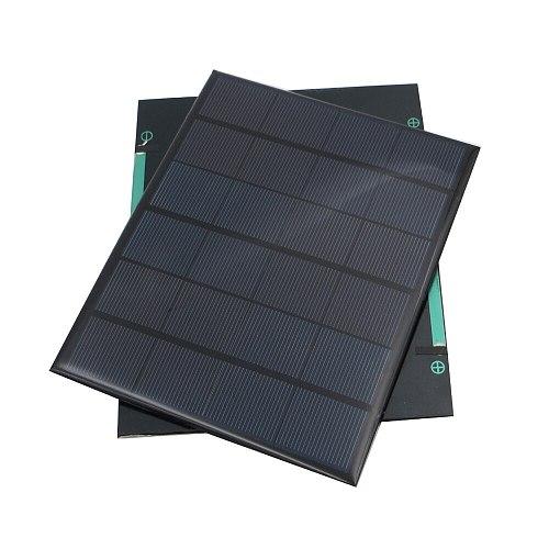 Solar Panel 6V 3.5W 583mA Standard Epoxy polycrystalline Silicon DIY Battery Power Charge Module Mini Solar Cell toy