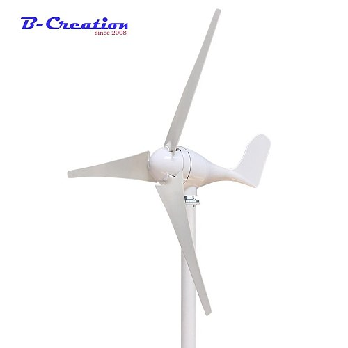 400W 12V/24v wind turbine generato With 600w wind controller low start-up wind speed three phase 3/5 blades on sale for home use