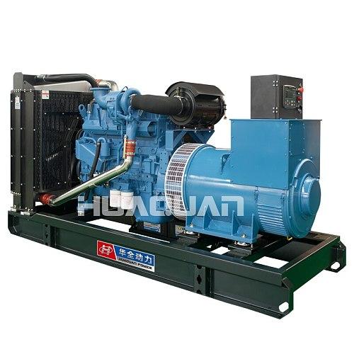 provide 450A 400V 312.5kva 250kw diesel generator set