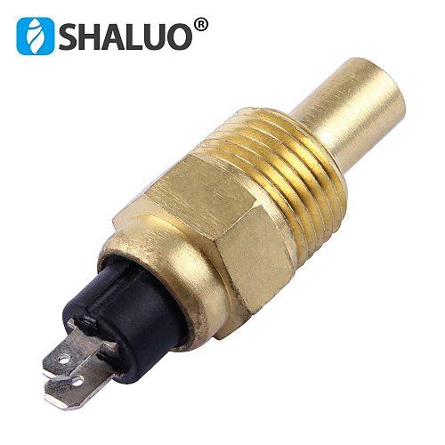 21mm VDO Diesel Engine Water Temperature Sensor 120C alarm brass automotive universal electric diesel brand generator sensor