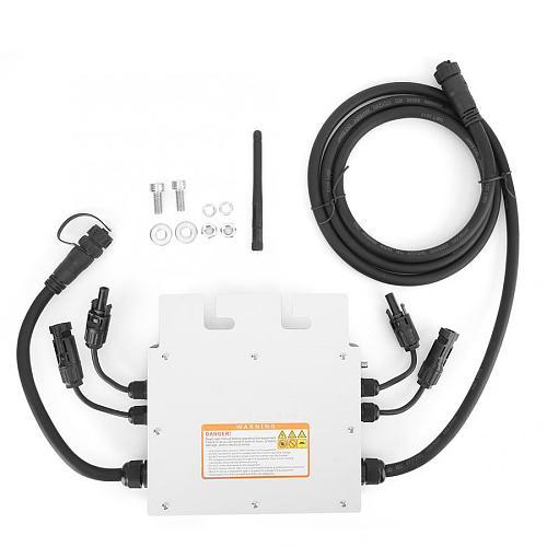 Inversor solar SG600MD 120V 230V Micro Solar Inverter IP65 Waterproof Grid Inverter 600W Solar Power Kit