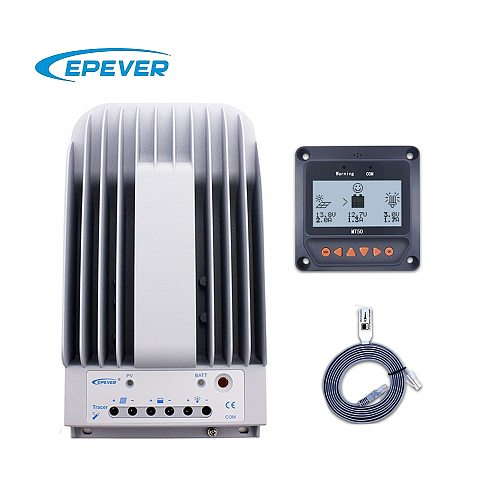 Tracer 10A 20A 30A 40A 1215BN 2215BN 3215BN 4215BN MPPT Solar Charge Controller with MT50 LCD meter epsolar Regulator