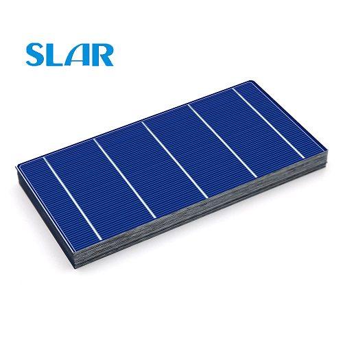 40 50 100pcs Solar Cells 2.4W 4.28A 156x78mm high efficiency Cheap Grade A PV DIY Photovoltaic Polycrystalline Solar Panel