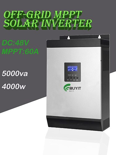 5000va  48V Hybrid solar 4000W off grid Inverter 60A MPPT Solar Charge Controller solar inverter for home use