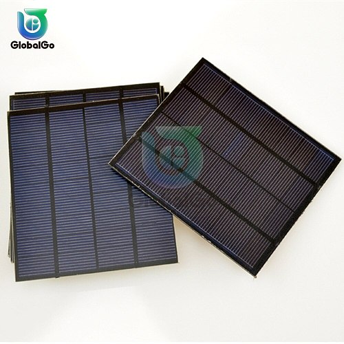 Solar Cells Panel DIY Charger Polycrystalline Battery Charge 9V 1.5W Sunpower