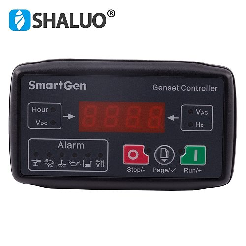 MGC100 small genset controller auto start protection module universal LED display controller board gasoline generator set part
