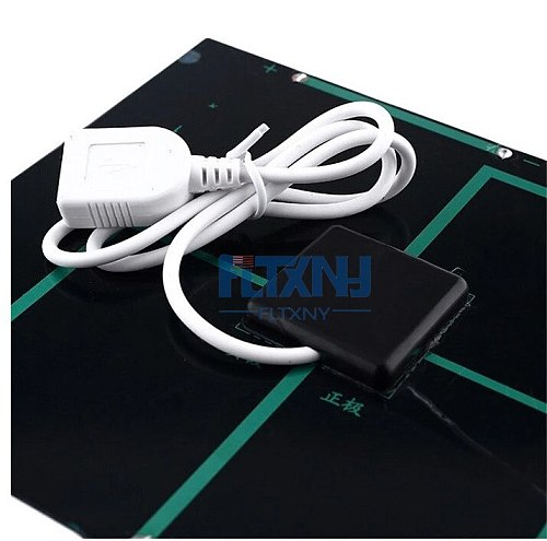 New 3.5W 6V Solar Panel Battery Charger DIY Solar Module with USB Port Portable Outdoor Solar Charging Board for Mobile Phones