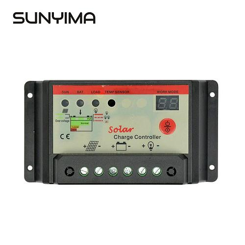 SUNYIMA 12V 24V 30A  Solar Battery Charger Controller Flexible Solar Panel Cells Controller Panneau Solaire Regulator Switching