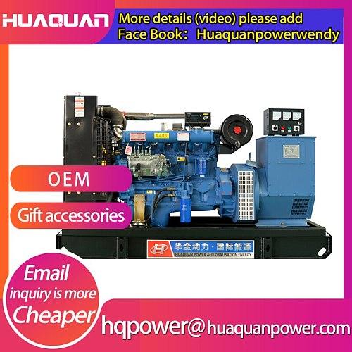 100kw generators set 125kva diesel engine high quality