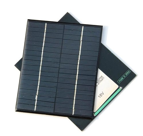 New ,Epoxy Solar Cell Module 2W 18V Polycrystalline Solar Panel For 12V Battery Charger DIY System Education 136*110MM