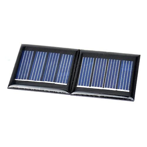 SUNYIMA 10Pcs Solar Panels 40x40MM 2V 60MA BEAM Solar Cells Monocrystalline Silicon DIY Sunpower Battery Charger