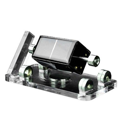 Solar Horizontal Four-Side Magnetic Levitation Mendocino Motor Stirling Engine Education Model
