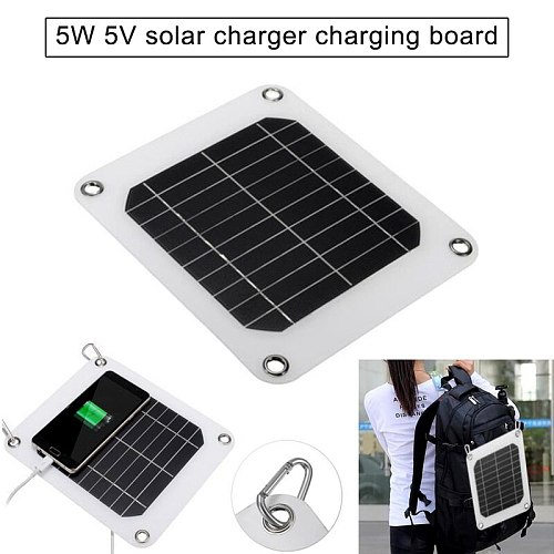 5V 5W Solar Charging Panel Battery Power Charger Board for Mobile Phone  BDF99