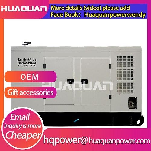Powered by diesel engine , silent diesel generator 150kw for sale