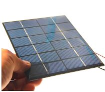 Epoxy Solar Cell Module 2W 18V Polycrystalline Solar Panel For 12V Battery Charger DIY System Education 136*110MM