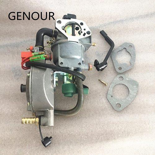 MANUAL CHOKE LPG&CNG CARBURETOR for GASOLINE LPG NG CONVERSION KIT ,gasoline generator 6KW 190F GX420 DAUL FUEL carburetor