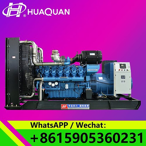 popular in china 1000kva 800KW generator set for sale