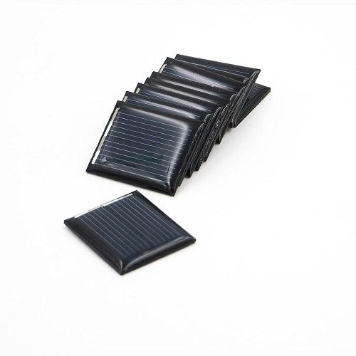 10pcs/lot Mini Solar Cell Module 1V 80mA Solar Panel Standard Epoxy Polycrystalline DIY Battery Power Charger