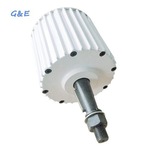 Low Rpm 2KW PMG With DC Rectifier Permanent Magnet Generator Low Speed Alternator