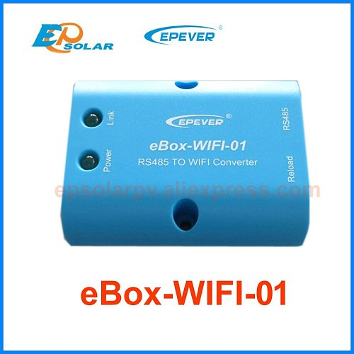 EPEVER WIFI Bluetooth Box Mobile Phone APP use for EP Tracer Solar Controller eLog01 USB eBox-WIFI-01 eBox-BLE-01 MT50 meter