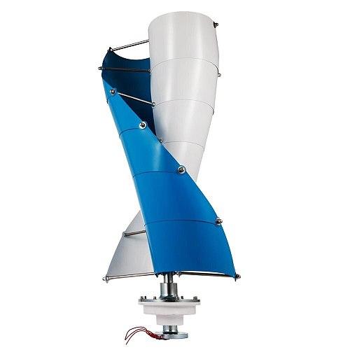 Low torque 400w Vertical Wind Power Generator for roof top12v 24v 48v  with Free MPPT 12v 24v Wind Turbine Controller