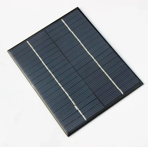 Epoxy Solar Cell Module 2W 18V Polycrystalline Solar Panel For 12V Battery Charger DIY System Education 136*110MM 2pcs
