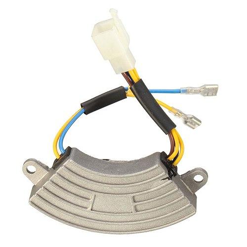 3500 Watt Generator AVR Automatic Voltage Regulator Rectifier AVR 250V 220uF Aluminum Base Cover 6 wires Popular