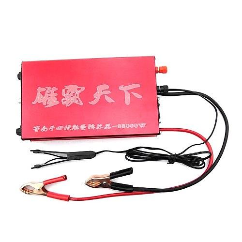 boost converter Plasma quad core energy releaser88000w transformer power inverter 12v  Machine Kit High Power converter inverter