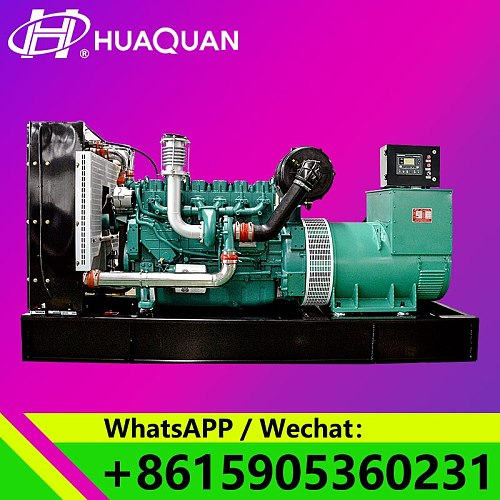 provide 450A diesel generator 312.5kva 250KW generator set