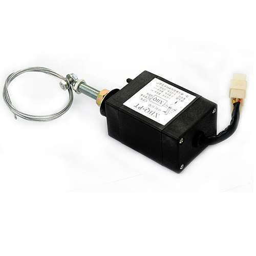 YIMAKER 1 pc Diesel Engine Flame Out Device Engine Stop Solenoid XHQ-PT 12V