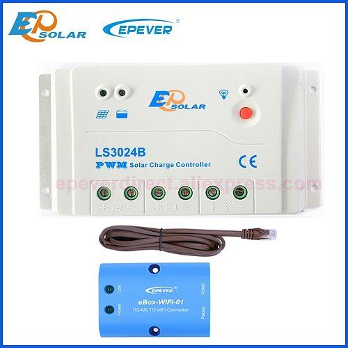 Landstar LS3024B LS2024B LS1024B Programmable Solar Charge controller charger Regulators with MT50 WIFI Bluetooth elo