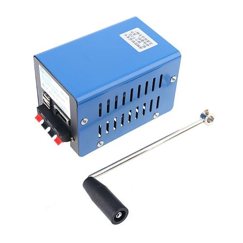 High Quality Portable Emergency Generator Inverter Outdoor Multifunction Manual Crank Dynamo