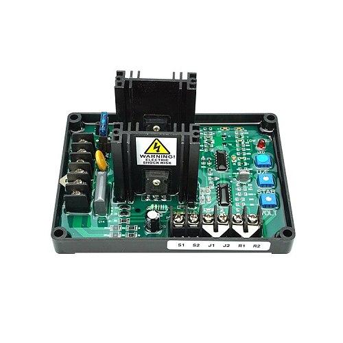GAVR-20A AV Universal Brushless AVR Generato Automatic Voltage Regulator Module 220/400VAC Frequency Protection EMI Suppression